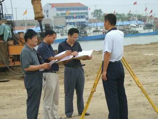 江苏射阳县审计局全力服务黄沙港国家级中心渔